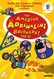 The Amazing Adrenalini Brothers Poster