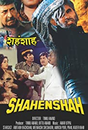 Shahenshah (1988) Poster - Movie Forum, Cast, Reviews