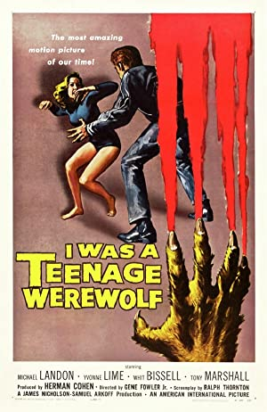 Yo fui un hombre lobo adolescente Online
