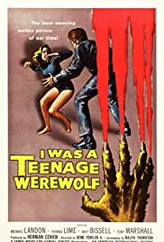 I Was a Teenage Werewolf Poster
