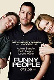 Funny People 2009 BRRip 720p 800MB Dual Audio ( Hindi – English ) MKV