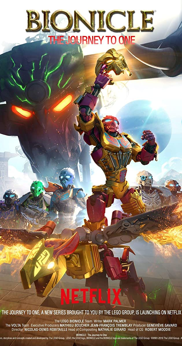 lego bionicle the journey to one tv miniseries 2016