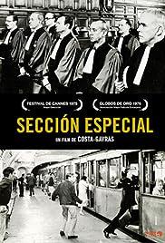Section spéciale(1975) Poster - Movie Forum, Cast, Reviews