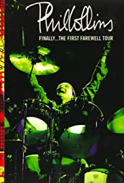 Phil Collins: Finally... The First Farewell Tour Poster
