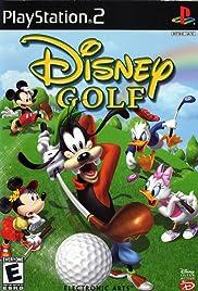 Disney Golf Poster