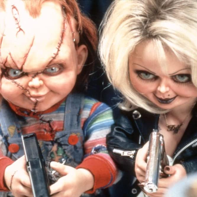 Jennifer Tilly and Brad Dourif in Bride of Chucky (1998)
