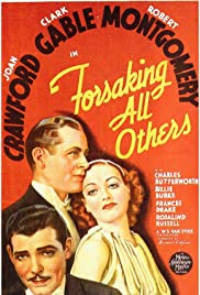 Forsaking All Others (1934) Poster - Movie Forum, Cast, Reviews