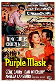 The Purple Mask (1955) Poster - Movie Forum, Cast, Reviews
