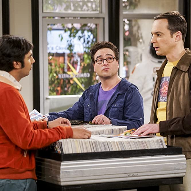 Johnny Galecki, Simon Helberg, Jim Parsons, and Kunal Nayyar in The Big Bang Theory (2007)