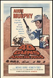 40 Guns to Apache Pass Poster