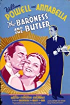 The Baroness and the Butler (1938) Poster