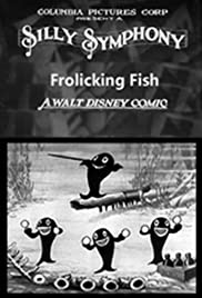 Frolicking Fish Poster