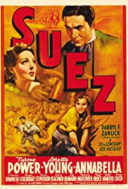 Suez (1938) Poster - Movie Forum, Cast, Reviews