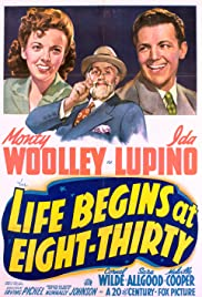 Life Begins at Eight-Thirty Poster