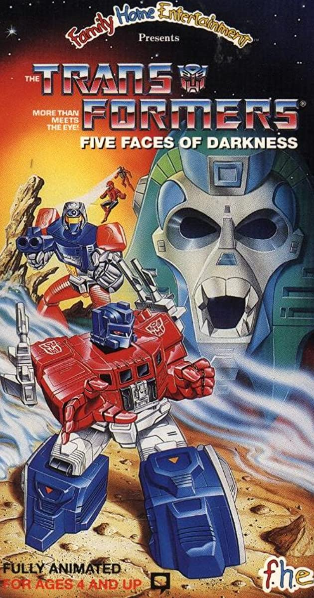 transformers five faces of darkness video 1986 imdb