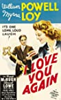 I Love You Again (1940) Poster