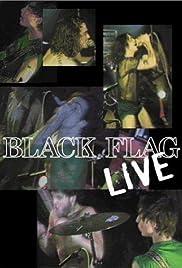 Black Flag Live Poster