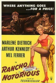Rancho Notorious (1952) Poster - Movie Forum, Cast, Reviews
