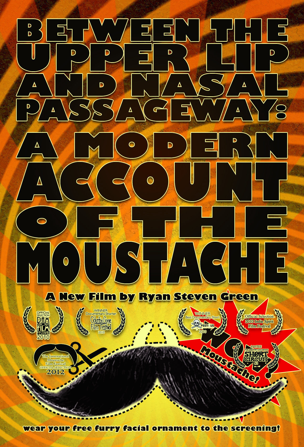 image Between the Upper Lip and Nasal Passageway: A Modern Account of the Moustache (2010) (V) Watch Full Movie Free Online