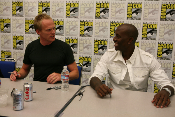 Paul Bettany and Tyrese Gibson