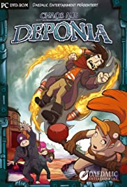 Chaos on Deponia Poster