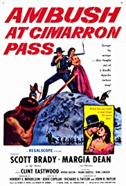 Ambush at Cimarron Pass (1958) Poster - Movie Forum, Cast, Reviews