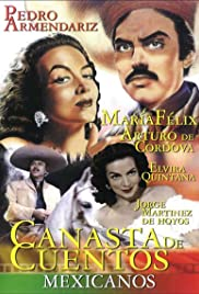 Canasta de cuentos mexicanos Poster