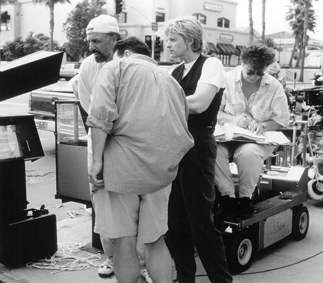 Ellen DeGeneres and Nick Castle in Mr. Wrong (1996)