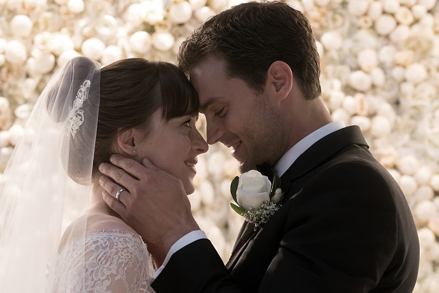 Dakota Johnson and Jamie Dornan in Fifty Shades Freed (2018)