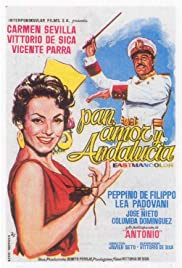 Pan, amor y Andalucía Poster