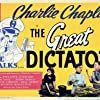 Paulette Goddard and Jack Oakie in The Great Dictator (1940)