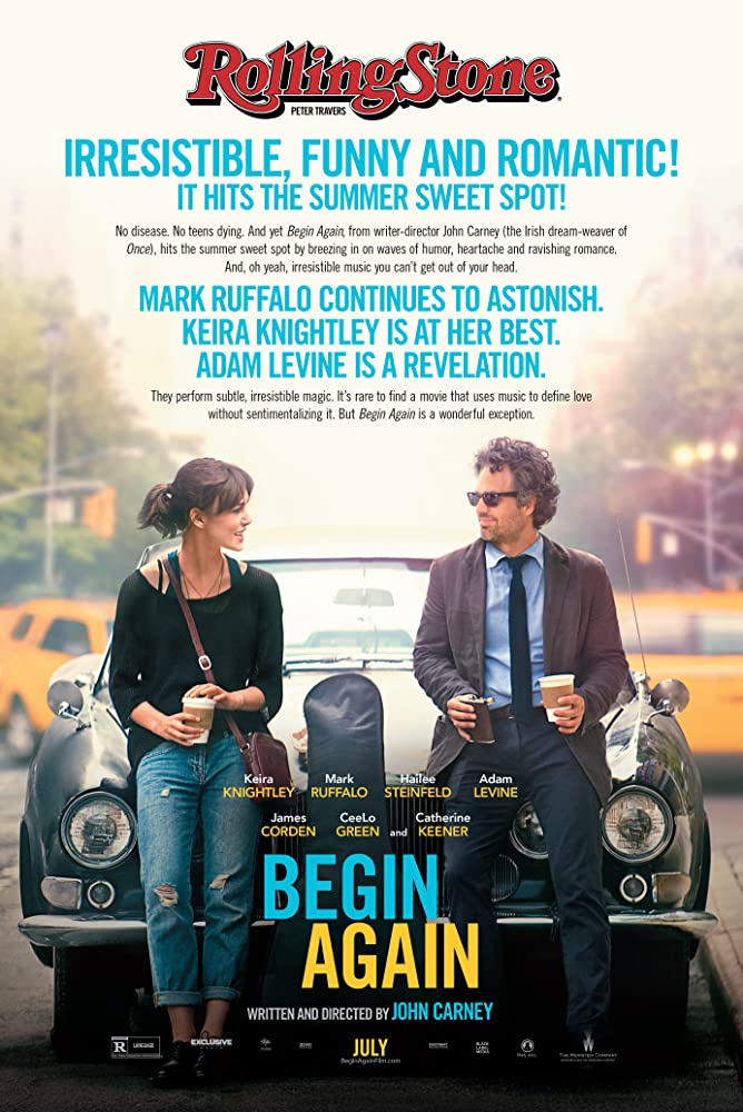 Begin Again cartel de la película