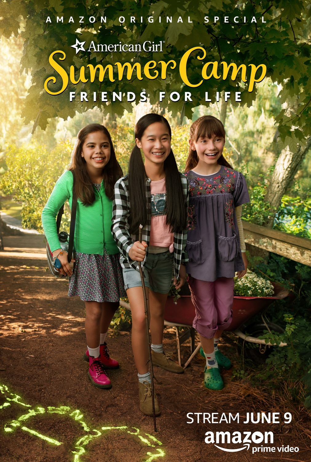 image An American Girl Story: Summer Camp, Friends for Life (2017) (TV) Watch Full Movie Free Online