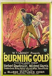 Burning Gold Poster