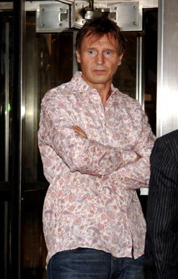 Liam Neeson at an event for Asylum (2005)