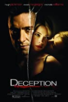 Deception (2008) Poster