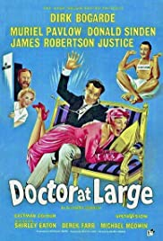 Doctor at Large (1957) Poster - Movie Forum, Cast, Reviews