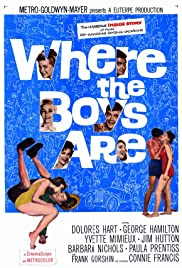 Where the Boys Are (1960) Poster - Movie Forum, Cast, Reviews