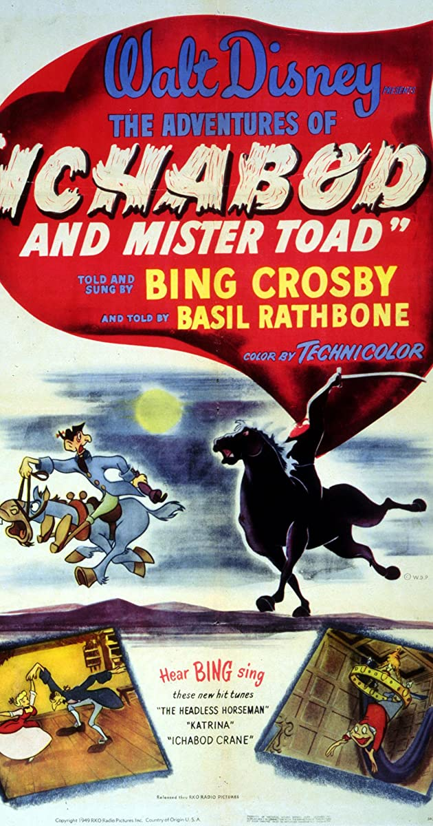 The Adventures Of Ichabod And Mr Toad 1949 Imdb