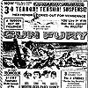 Rock Hudson, Donna Reed, Philip Carey, and Roberta Haynes in Gun Fury (1953)