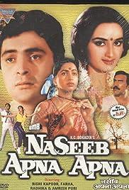 Naseeb Apna Apna Poster