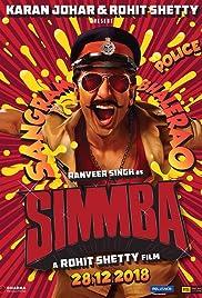 Simmba (2018) 700MB DVDScr Hindi Movie 720p ESubs