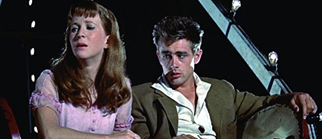 James Dean and Julie Harris in East of Eden (1955)