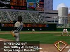 Major League Baseball Featuring Ken Griffey Jr. (VG)