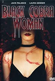 Black Cobra Woman Poster