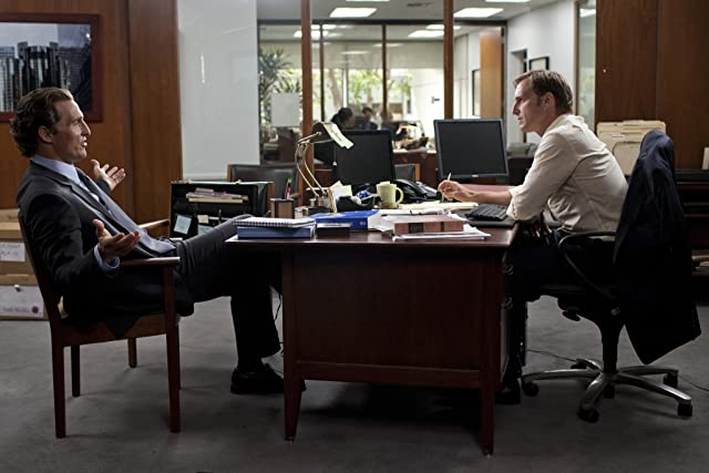 Matthew McConaughey and Josh Lucas in The Lincoln Lawyer (2011)