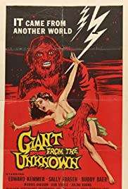 Giant from the Unknown(1958) Poster - Movie Forum, Cast, Reviews
