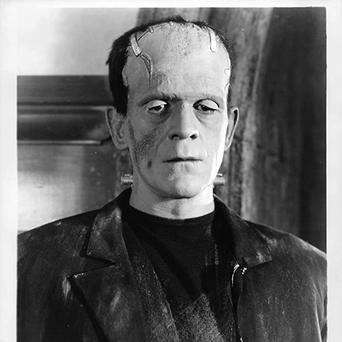 Boris Karloff in Bride of Frankenstein (1935)