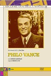Philo Vance Poster