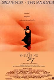 The Sheltering Sky Poster